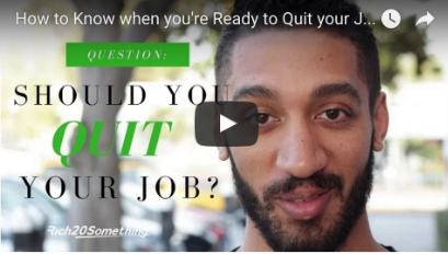 How You Know You're Ready to Quit Your Job - Under30CEO