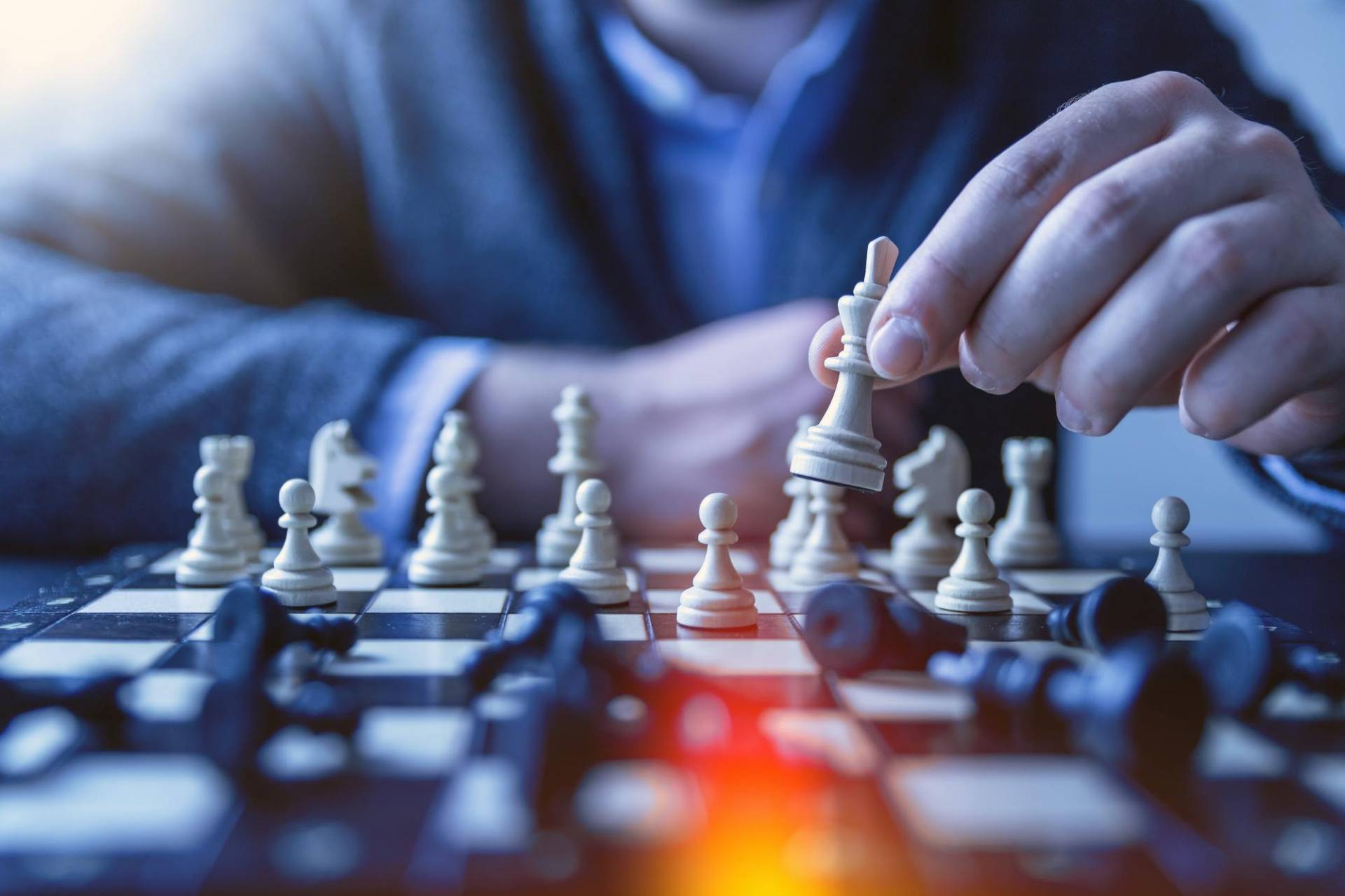 Social Media Marketing Strategy like a chess game